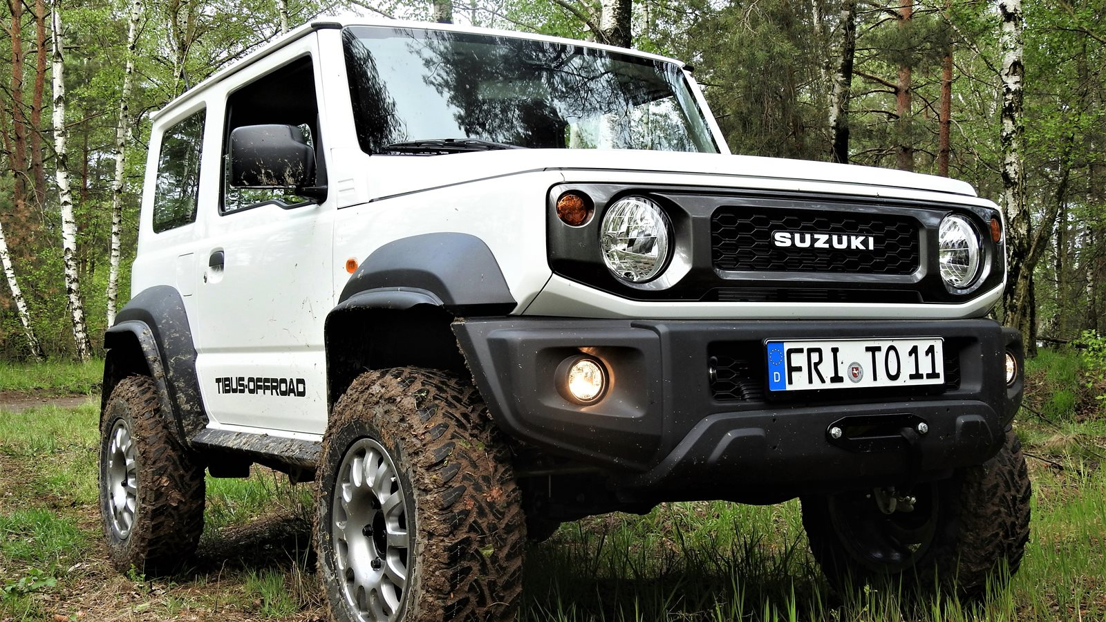 Bolt-on portals - Tibus Offroad -